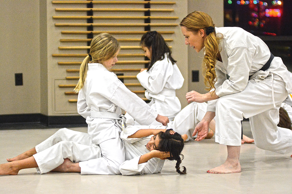 McNary assistant principal moonlights in the dojo