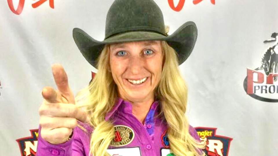 Keizer woman wins 'Super Bowl' of Rodeo