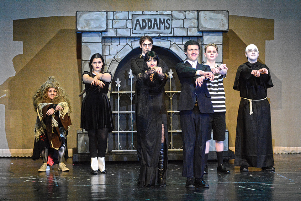 McNary presents The Addams Family musical