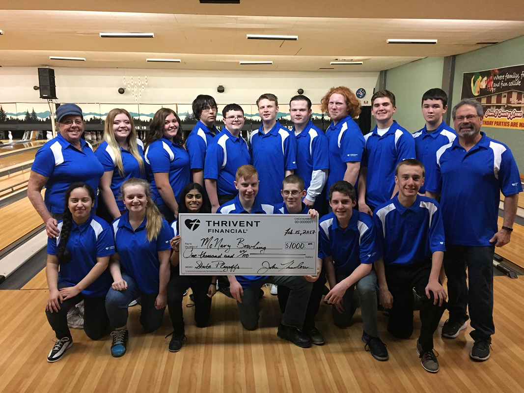 McNary bowlers going to state