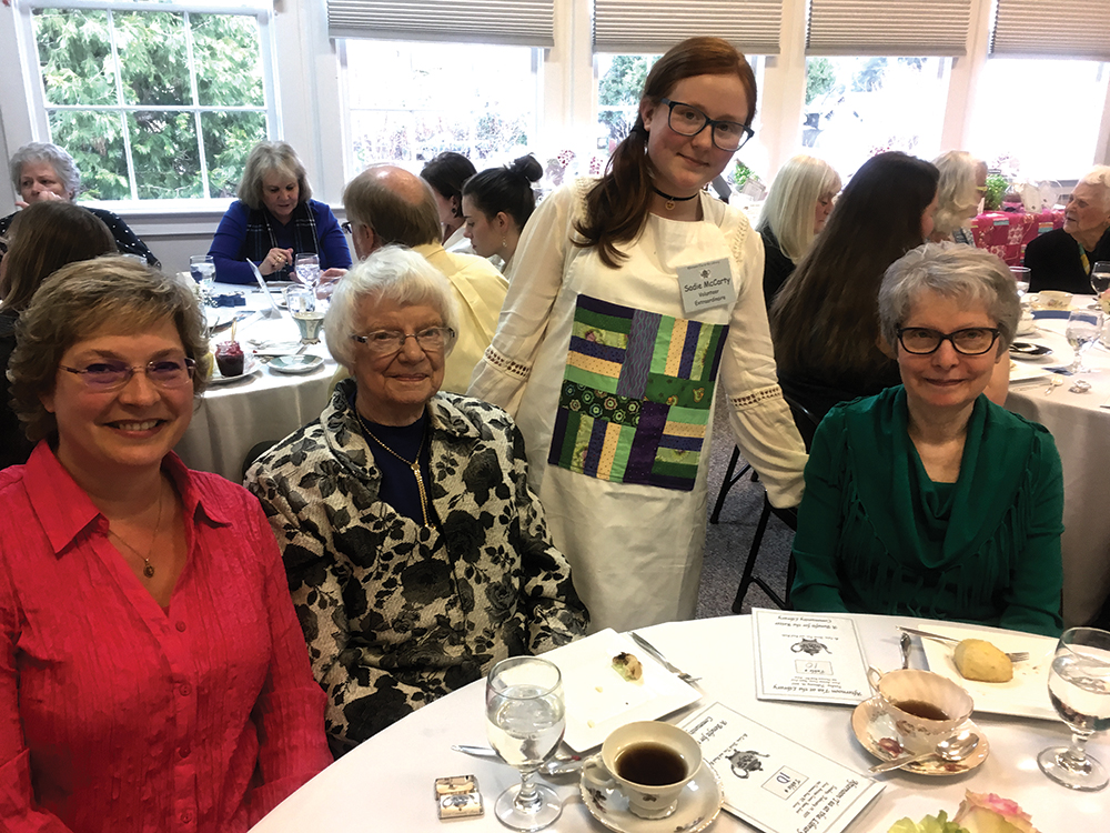 Tea fundraiser a hit for Keizer library
