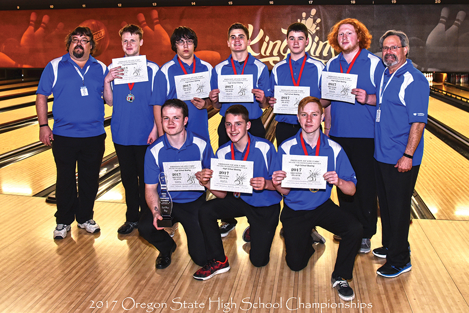 McNary bowlers place second in state