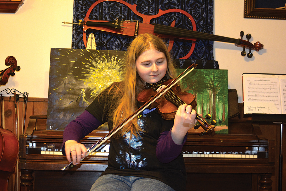 Keizer teen makes most of pencil