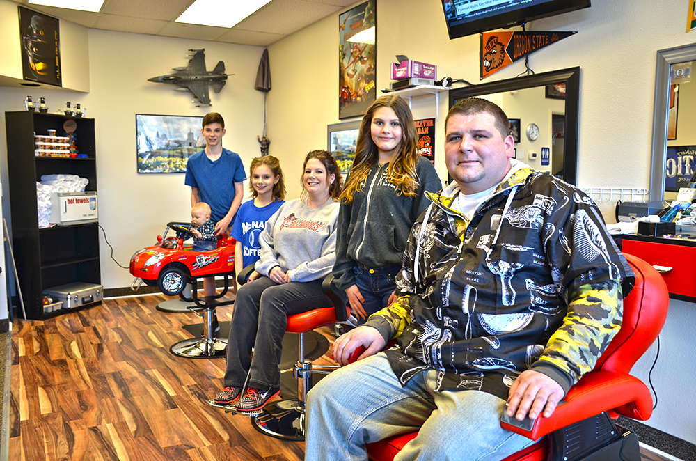 New barber shop opens