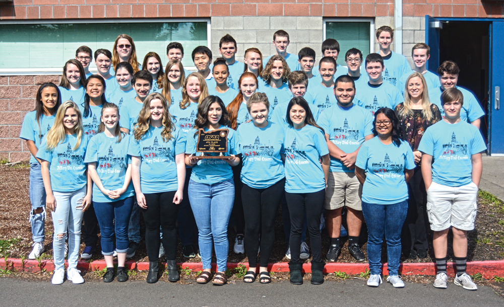 McNary band fourth in state