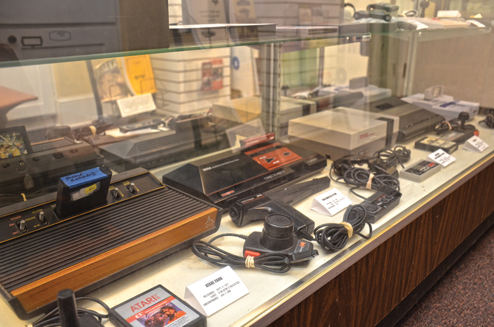 Retro video games in new exhibit