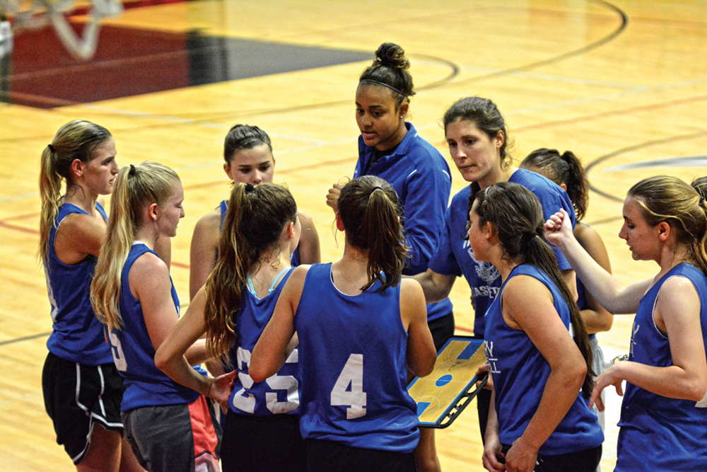 New coach, players at McNary