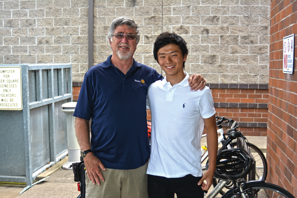 Rotary exchange student will miss Keizer