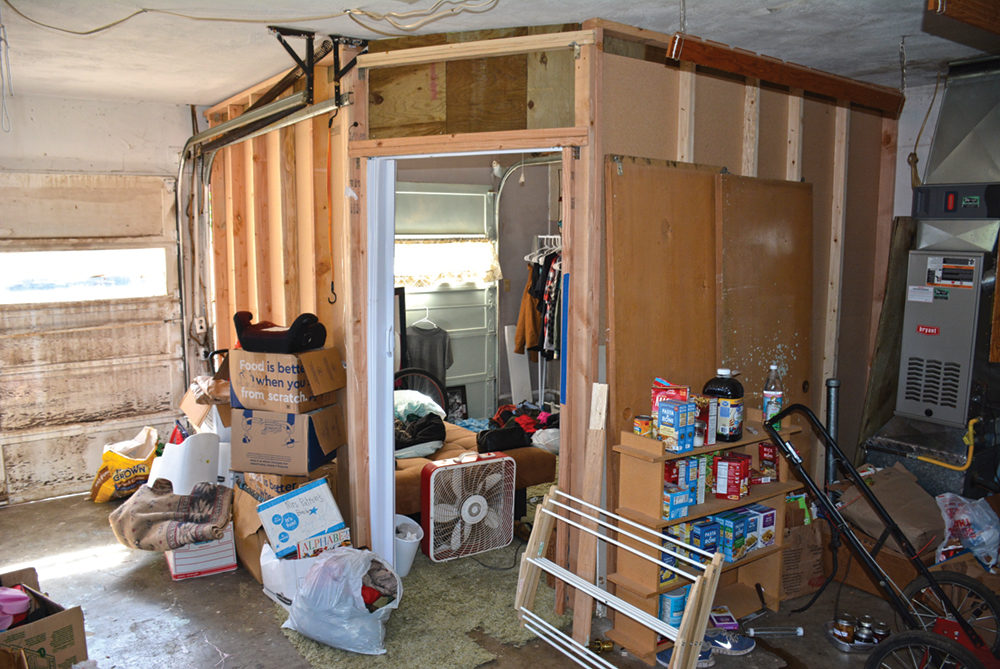 KPD officers clear out another squatter home