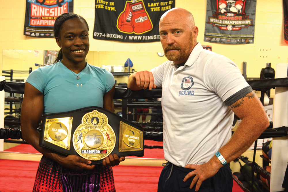 Champions train at Kroc Center