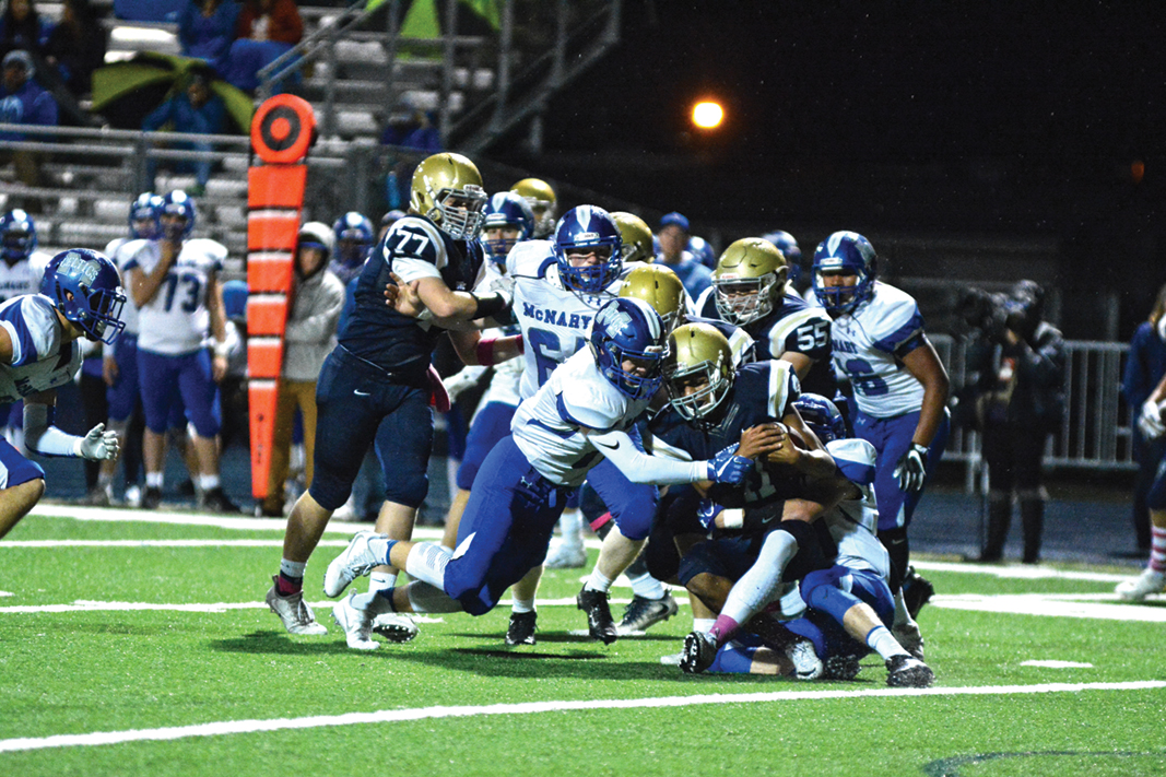 McNary traveling to North Medford
