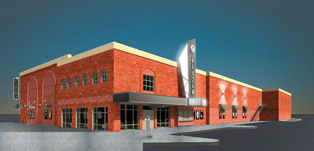 Theater design unveiled, approved