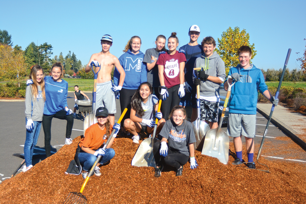 Whiteaker holds day of service
