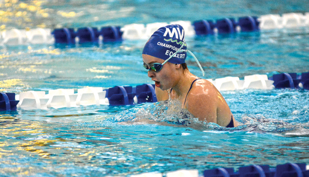 McNary sweeps 200 free relays in first meet