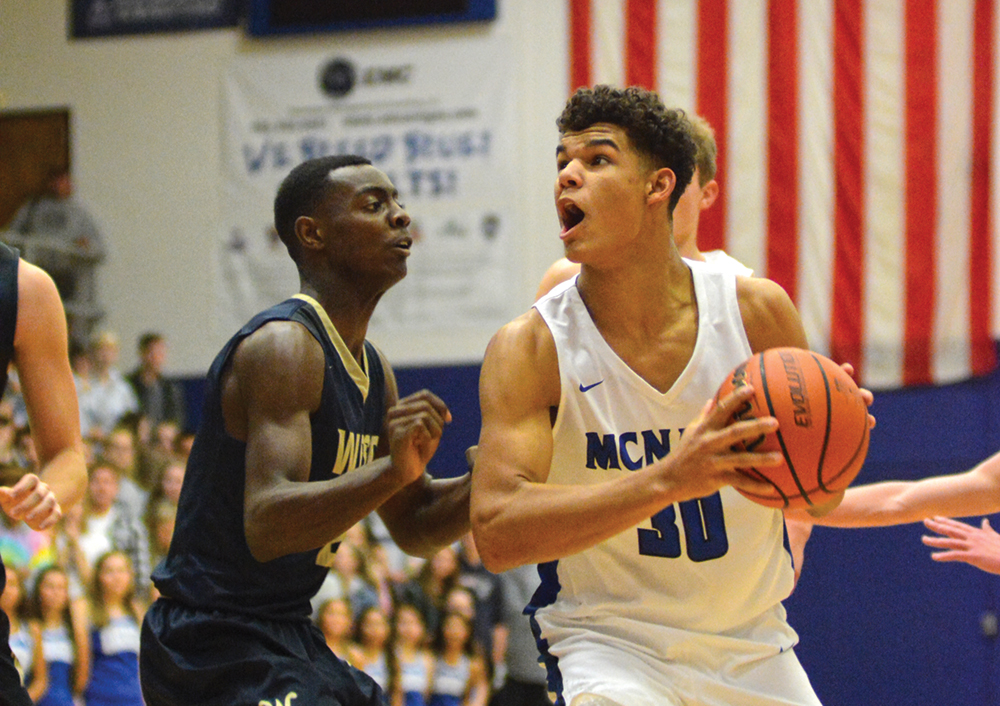 Cavell posts double-double of 27 points, 10 rebounds