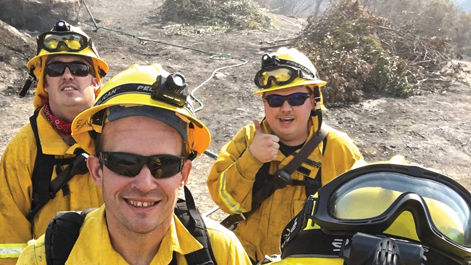 Keizer Fire back from California