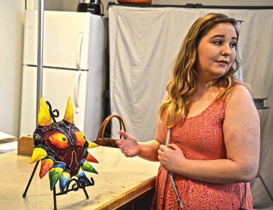Celtic artists shine in KAA February exhibit, Majora's Mask Best of Show