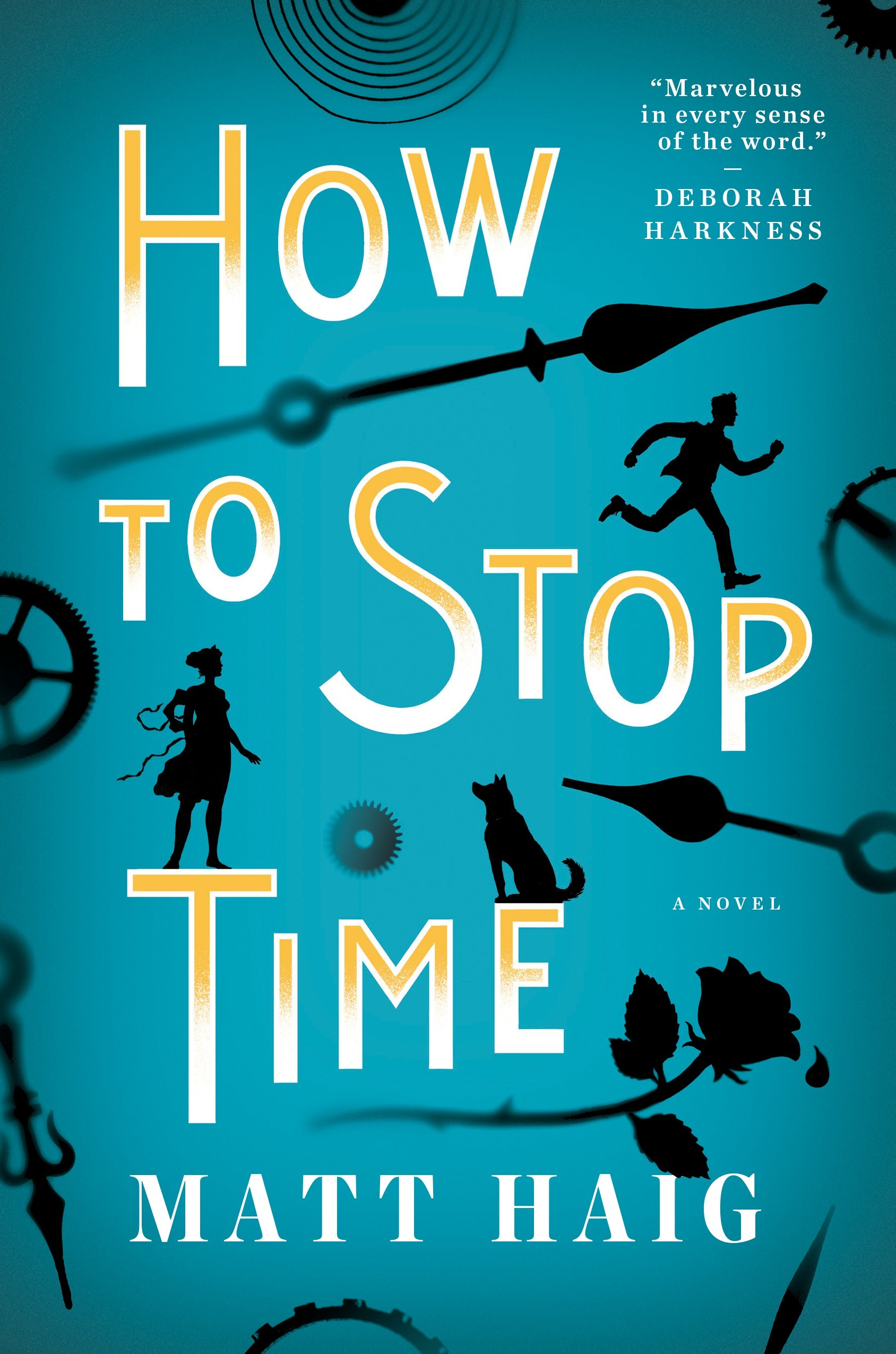 """How to Stop Time"" by Matt Haig"