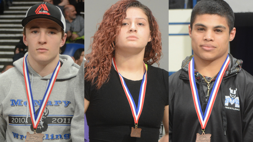 Ebbs places third in the state, Vincent, Parra finish fourth