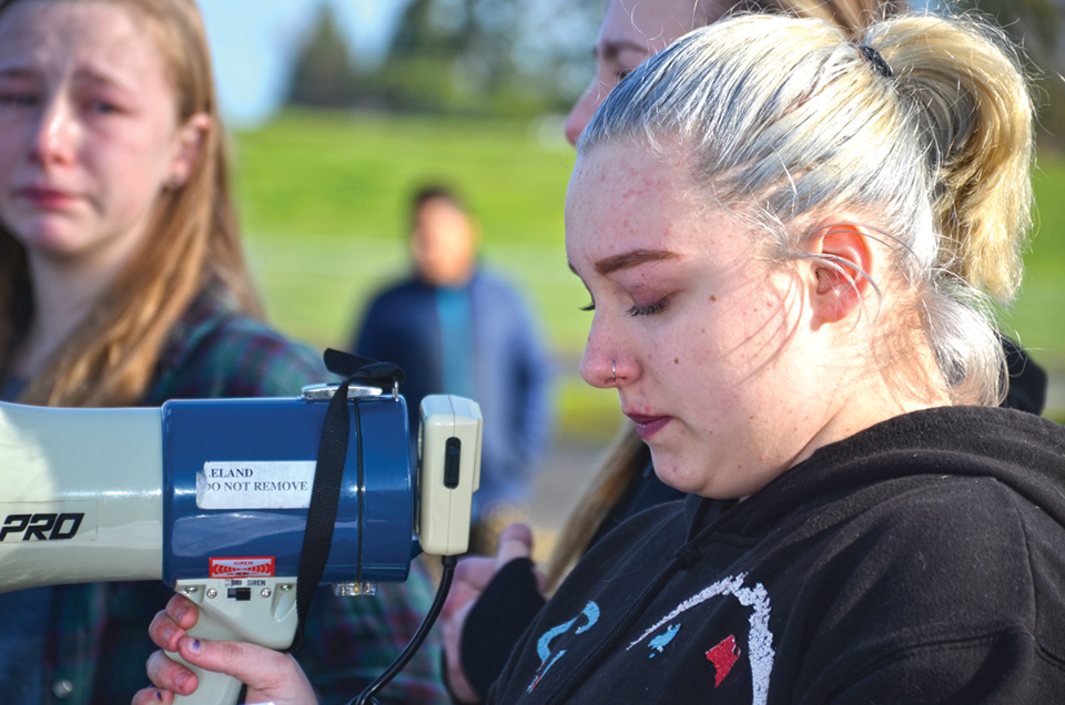 Keizer students ask: When is enough enough?