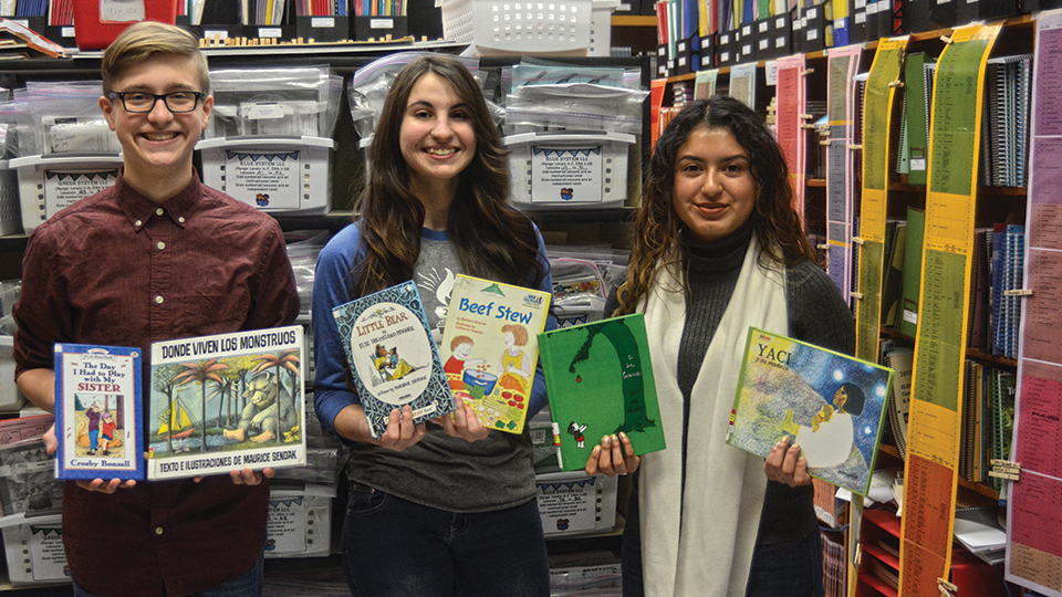 Sound wisdom: Celts produce audiobooks for student readers