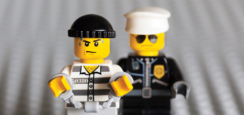 Lego thief busted
