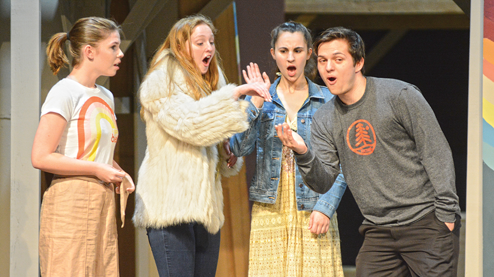 McNary mixes 70s with Shakespeare