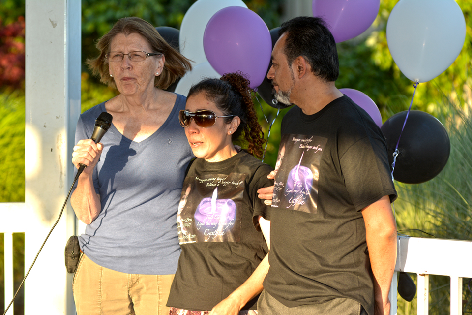 Vigil gathers community to support search for mother