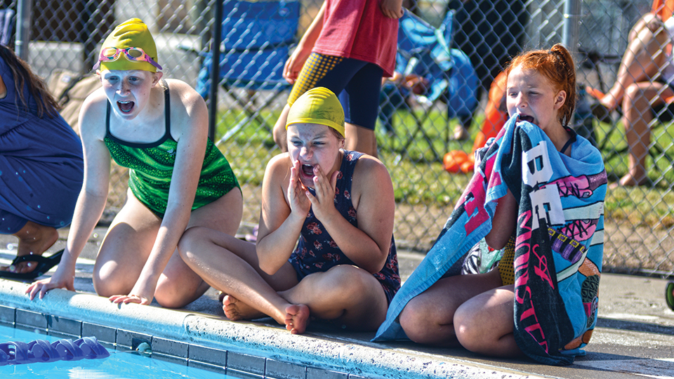 First swim: Holiday outduels Northwood