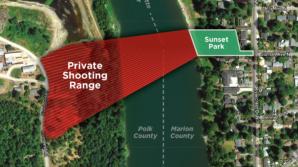 Temporary ceasefire: Range owner halts shooting for time being