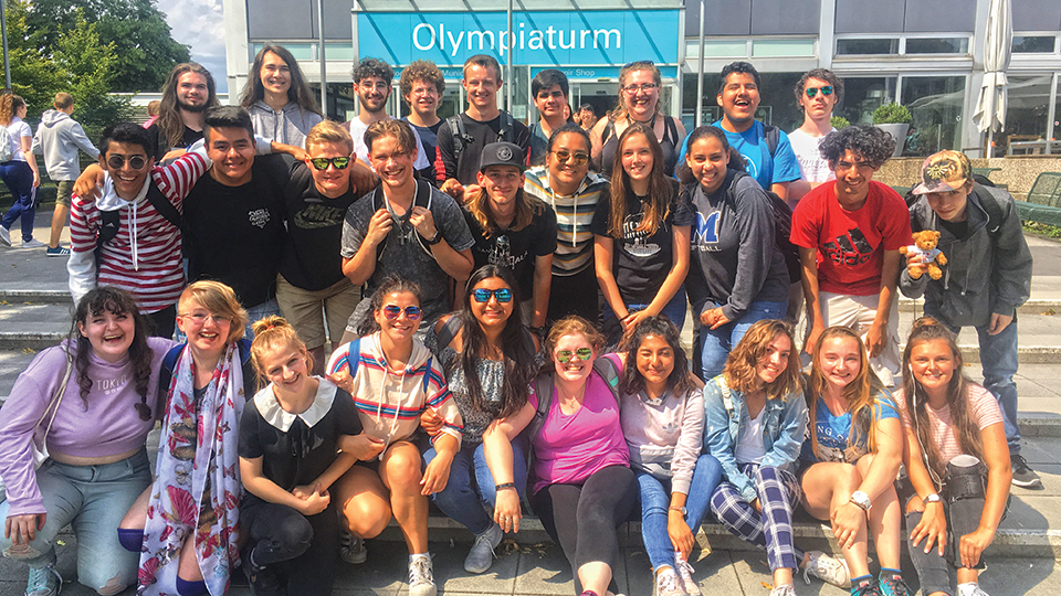 McNary students tour Germany