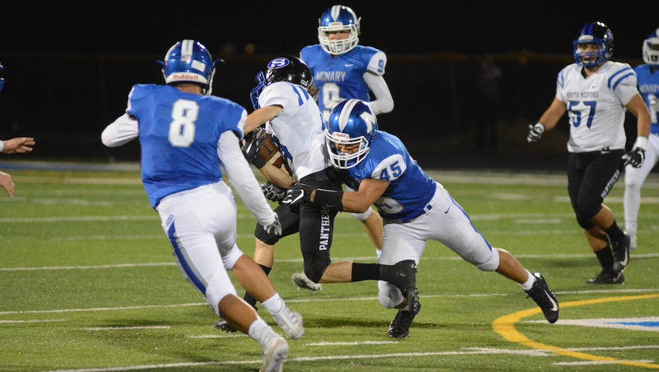 Auvinen sees fight, 'glimmer of hope' after loss to South Medford