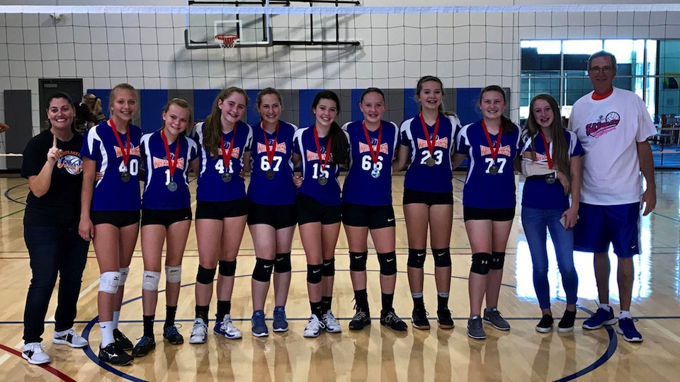 Whiteaker undefeated at volleyball tournament